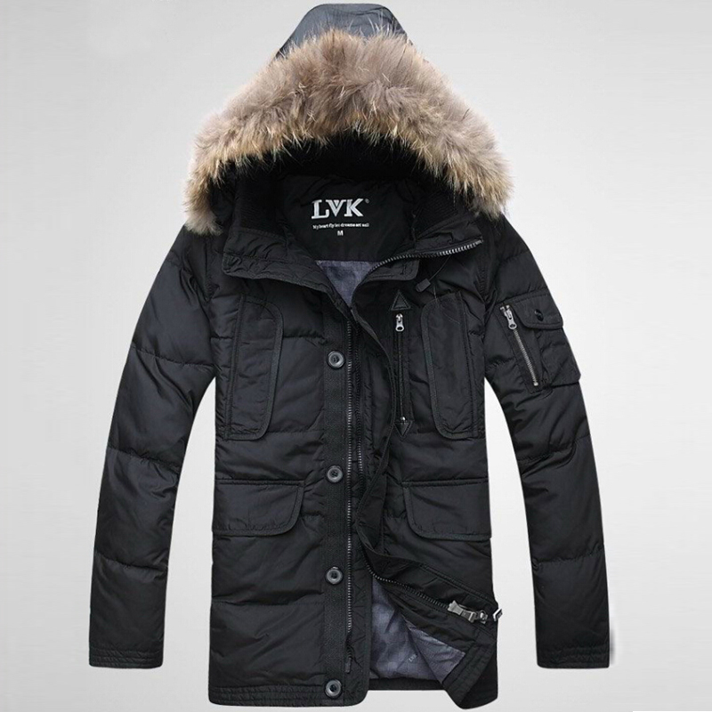 jaqueta masculina men down jacket winter jacket men parka long coat winter faux fur collar high quality brand moleton masculino(China (Mainland))