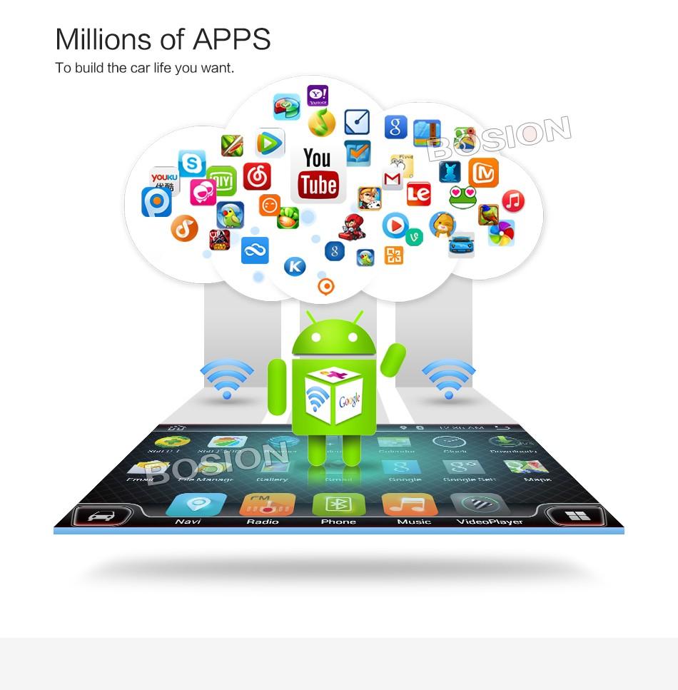Купить 2 Din Android 6.0 Полный Сенсорный ПК Автомобиля Tablet двойной Аудио 7 ''GPS Navi Стерео Радио Без DVD mp3-плеер Bluetooth для vw стерео