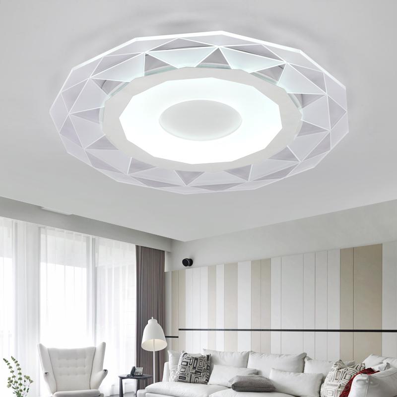 Modern Simple Ultrathin Acrylic Led Ceiling Lights For