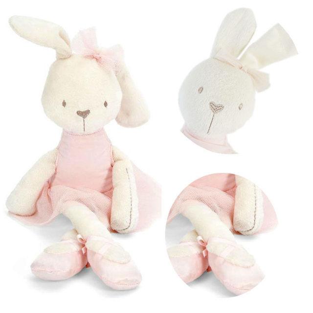 Симпатичные 42 см Большие Мягкие Чучела Животных Кролик Игрушка Baby Girl Kid Подарков