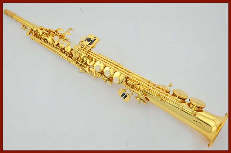 French Selmer High-pitch Bb R54 Soprano Saxophone Straight one B Flat Saxe Musical Instrument sax Saxofone(China (Mainland))