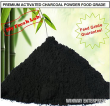 NEW 250G PACKING PREMIUM ACTIVATED BAMBOO CHARCOAL POWDER FOOD GRADE TEETH WHITENING CARBON L(China (Mainland))