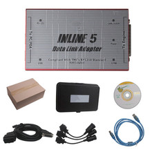 Inline 5 Insite 7.62 Heavy Duty Truck Diagnostic Interface Update By CD High Quality(China (Mainland))