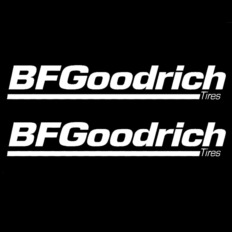 bf goodrich tires wheels rims caps jdm trd car decal stickers(China (Mainland))