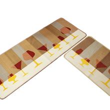 home decoration Polyester printed kitchen mats carpet floor Super comfortable doormat bathroom bath mats absorbent non-slip(China (Mainland))