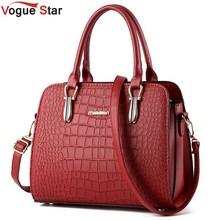 Vogue Star 2016 Hot women handbag crocodile style leather handbag messenger bag shoulder bag high quality bolsas pouch YB40-431(China (Mainland))