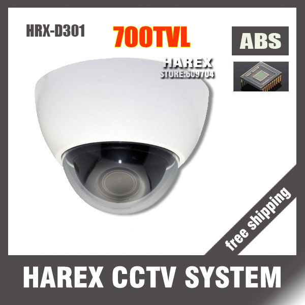700TVL CMOS 960H HD Security Wide Angle Dome CCTV Camera with 2.8mm Lens.Free Shipping