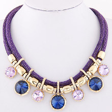 Buy 2017 Rhinestone Women Chokers Necklace New Arrival Necklaces Pendants Fashion Statement Necklace Jewelry Trends Gift Party for $5.36 in AliExpress store