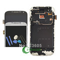 For Samsung 9500 9505 For Galaxy S4 LCD Display Touch Screen Digitizer Assembly With Frame Replacement