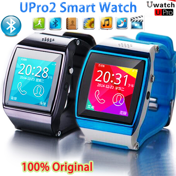 New Upro2 Phone Smart Watch U watch UPro 2 Bluetooth Smartwatch with 3M Camera for IOS,Samsung,Android Phone Support mp3/mp4/FM(China (Mainland))
