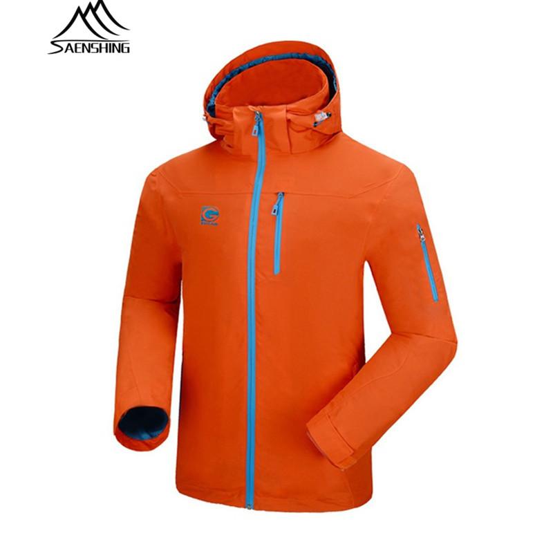 2016 Plus size softshell jacket men original new brand Waterproof Windproof men's jacket camping hiking climbing sport coat(China (Mainland))