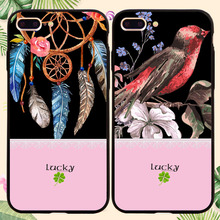 Buy Fashion Cartoon Lucky Flower Case iphone 5 5s SE 6 6S 6Plus 7 7PLus Cover Luxury Retro Floral Phone Cases Soft Coque for $1.40 in AliExpress store