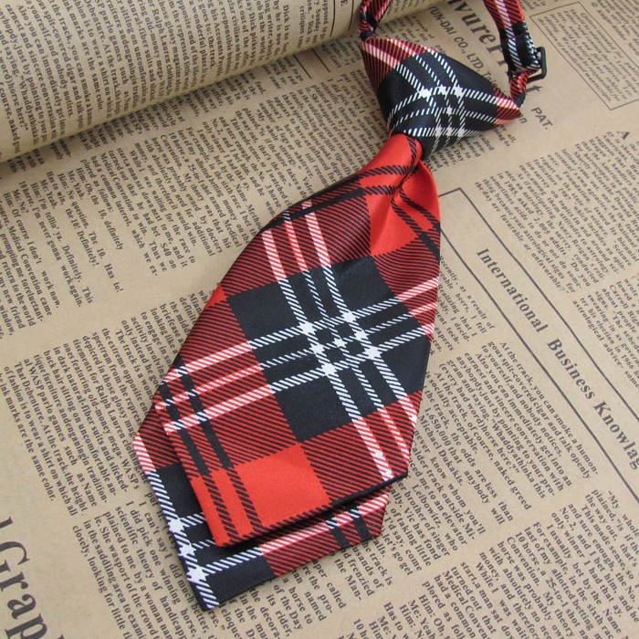 2014 New Scottish plaid Free shipping baby/kid/children ties neck ties Boys Girls tie handsome young gentleman cool fashion tie(China (Mainland))