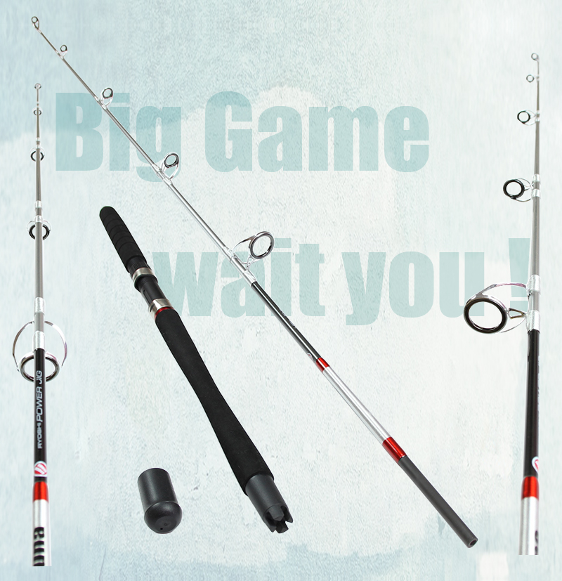 New fishing jigging boat rod spinning 99 carbon sea for Big game fishing rods