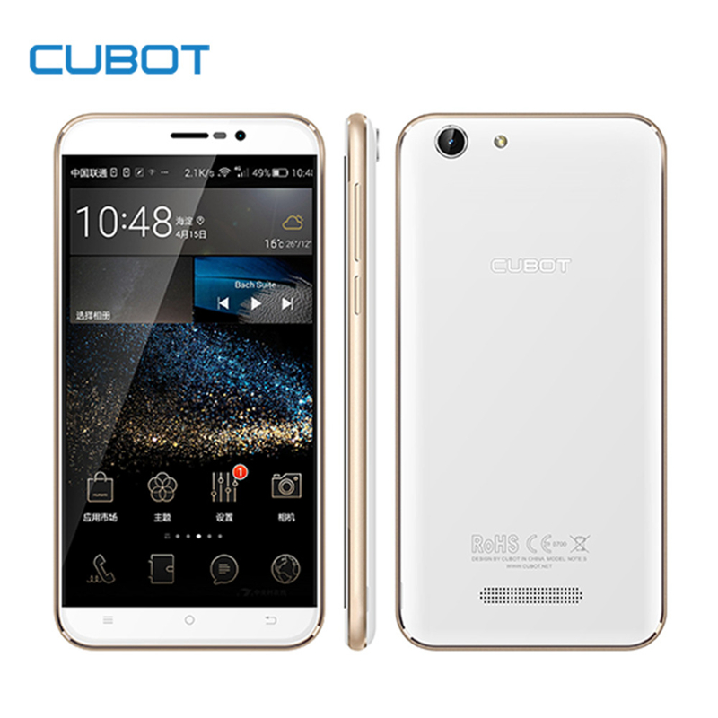 Original Cubot Note S 4150mAh Battery Cellphone 5.5inch 1280X720 Android 5.1 Smartphone 3G WCDMA 2G RAM 16G ROM Mobile Phone(China (Mainland))
