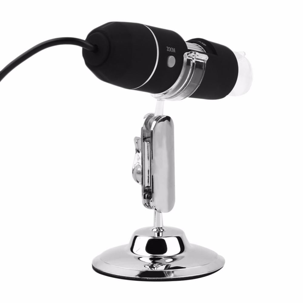 Upslon Portable 500x 2MP USB Digital Microscope Endoscope Magnifier Video Camera Cool Gift for Children Friend Biology Students