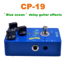 CP-19  Blue Ocean Delay Guitar Effects Caline NEW Guitar Delay Pedal Blue Ocean Delay True Bypass High quality Free Ship(China (Mainland))