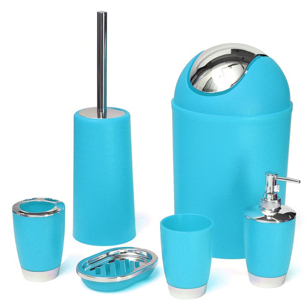 Plastic bottle waste reviews online shopping plastic for Turquoise bathroom bin