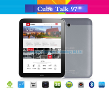 9.7 inch Cube Talk 97 Phone Call 3G Tablet PC IPS 1024x768 8GB Rom 8.0MP Camera MTK8382 Quad Core tablet pc 1.3GHz WCDMA GPS(China (Mainland))