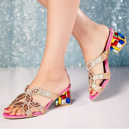 size 34-43 Low new women Sandals Elegant Platform Sandals Round Toe open toe Cover Heel shoes women Fashion Leisure<br><br>Aliexpress