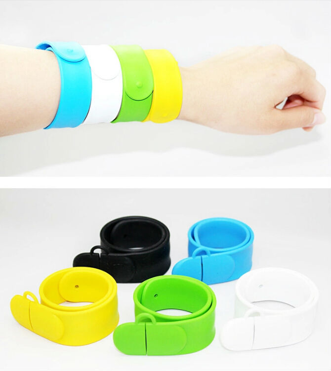 fashion colorful Bracelet silcon wristband 2G 4G 8GB 16GB USB Flash Drives 2.0 Memory Drive Stick Pendrive/Creativo Gfit(China (Mainland))