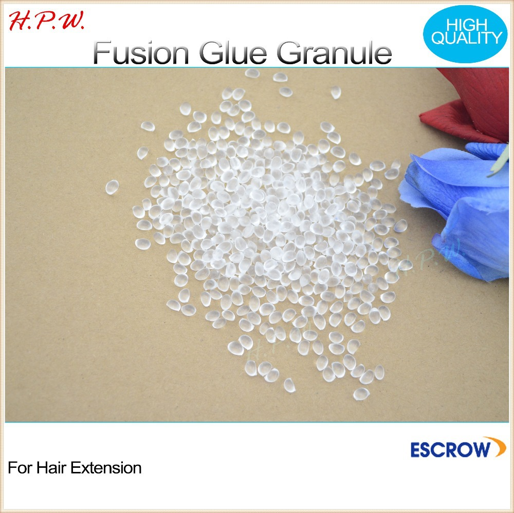 H.P.W. wholesale1000g keratin granule glue for hair diy pre-bonded human hair extension, FUSION glue, HIGH QUALITY free shipping<br><br>Aliexpress