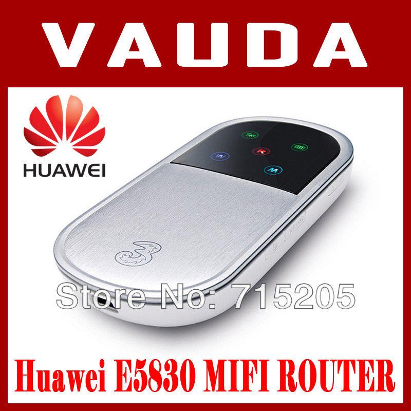 Original Huawei E5830 HSUPA mobile wifi router for iPad wifi Free shipping(China (Mainland))