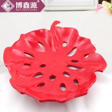 Bo Xinyuan wholesale KTV decoration simple hollow creative fruit plate fruit plate coffee table ornaments luxury