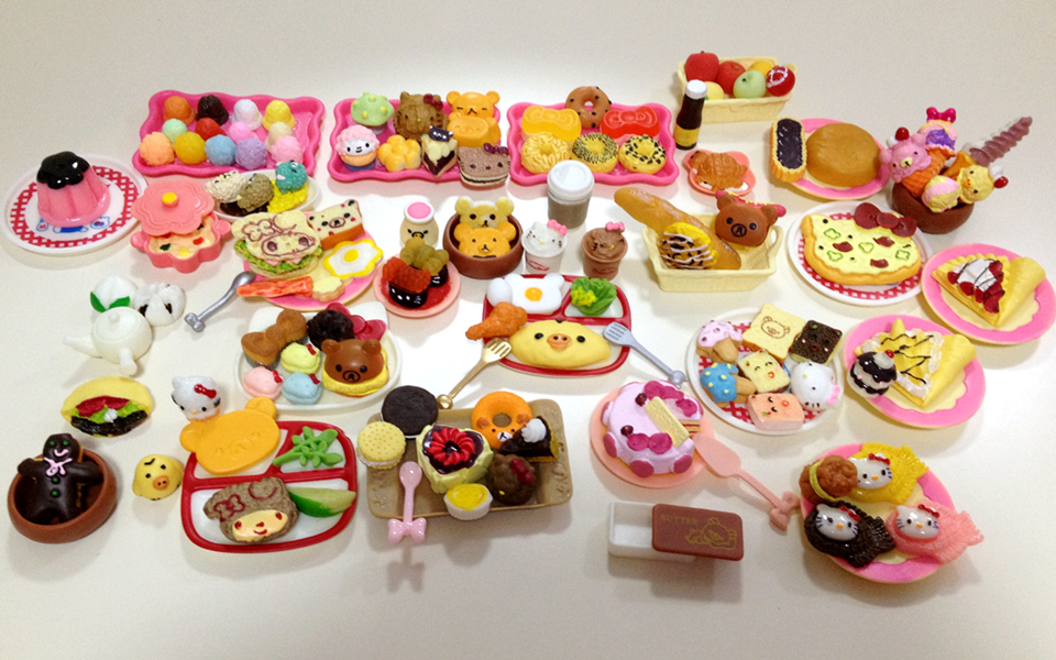 120Pcs/lot Re-ment 1/12 Mini Food Tableware Miniatures Lovely Dollhouse Meal Drink Megahouse BJD Doll House Decoration Play Toys<br><br>Aliexpress