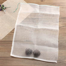 Nylon Mesh Drawstring Net Bag for Aquarium Filter Media Bio Ring Bio-Ball Carbon 40x60cm(China (Mainland))