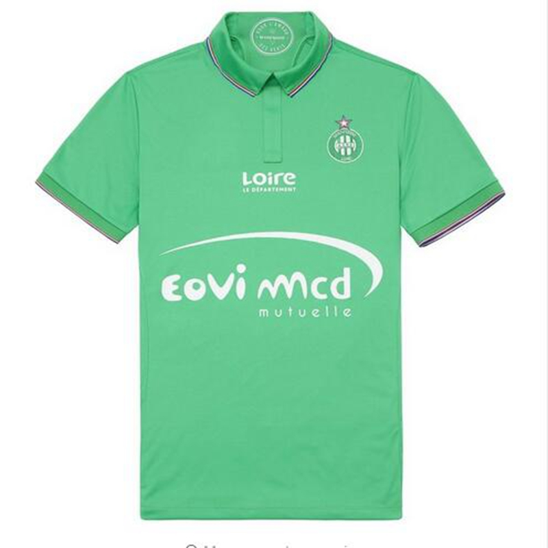 2016 2017 Home Shirt football AS Saint Etienne green home Soccer Jersey AS Saint Etienne home shirt free shippin(China (Mainland))