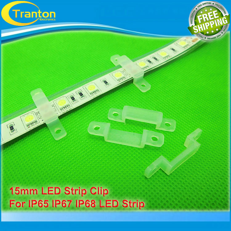 15mm led strip clip for IP65,IP67,IP68 led strip, silicon gel strip holder,10pcs/lot,<br><br>Aliexpress