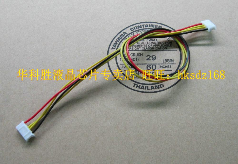 (20pcs/lot) Universal Line 4 Line 6 pairs of intermediate 6 4pin electronic wire cable(China (Mainland))