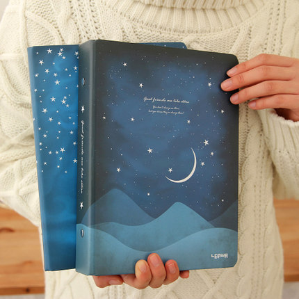 a4 hard-cover loose-leaf notebook diary notepad<br><br>Aliexpress
