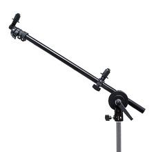 New Black Reflector Holder Bracket Panel Backdrop Arm Holder with Grip Swivel Wheel Single Head Clamp For 24 – 66″  Reflector