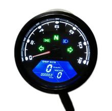 Buy 2017 12000 RMP kmh/mph Universal LCD Digital Odometer Speedometer Tachometer Gear indicator Motorcycle Scooter Golf Carts ATV for $26.00 in AliExpress store