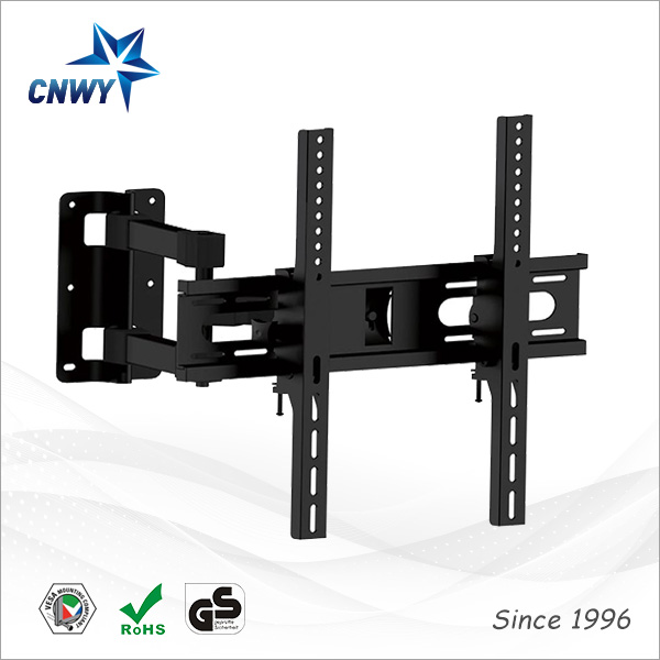 CNXD 2016 Design Full MotionType Cold Rolled Steel Material LED LCD TV Wall Mount Bracket Suitable TV Size 17 to 55 inch(China (Mainland))