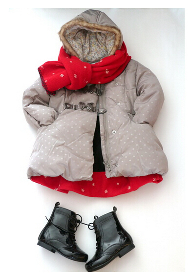 Foreign trade fashion warm cotton-padded jacket of the girls<br><br>Aliexpress
