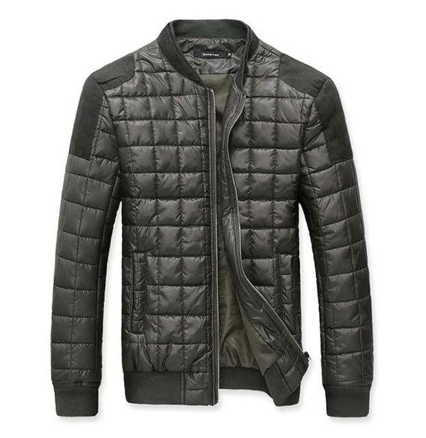 Куртка для мужчин 2016 новое поступление мужская зимняя тонкий слой теплый тонкий ...