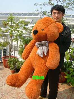 new fashion teddy bear plush doll 80cm size quality best and free shipping 530