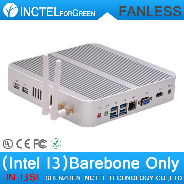 Fanless Table PC Computer Parts with 2G RAM Intel Core i3 4010U 1.7Ghz CPU Haswell Architecture(China (Mainland))