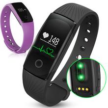 Id107 pulsera inteligente mejor que mi banda 2 Bluetooth 4.0 Passomete smartband Sincroniza Pulsera Deporte Pulsera rastreador de Ejercicios