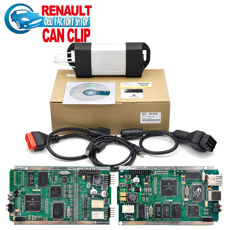 Free shipping 2016 High Quality Renault Can Clip Latest V155 super Renault can clip Diagnostic tool(China (Mainland))