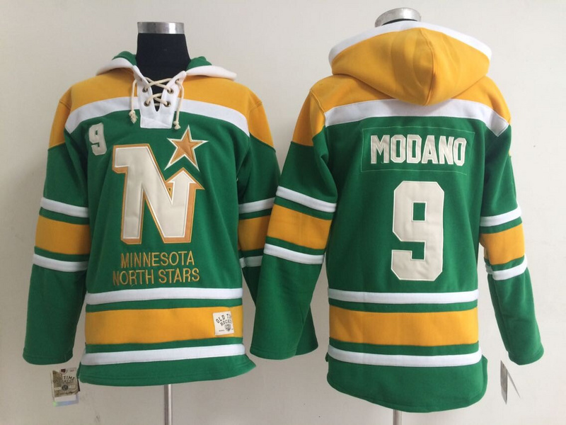 Low Price Dallas Stars Mens Ice Hockey Hoodies #9 Mike Modano Green,Size 48-54,Embroidery Logos Mixed Order for sale(China (Mainland))