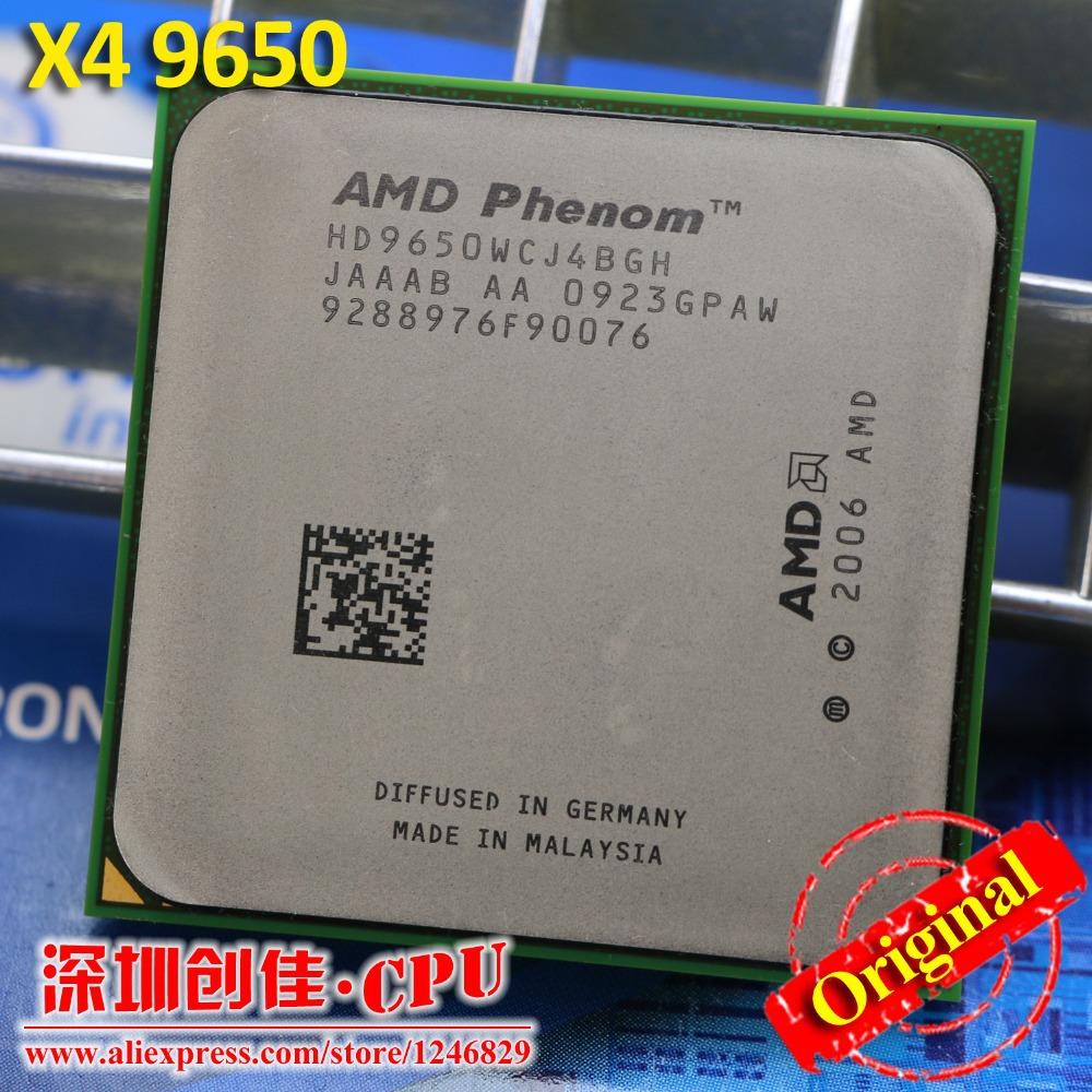 Free shipping Original AMD CPU Phenom X4 9650 processor 2.3G Socket AM2+/ 940 Pin /Dual-CORE / 2MB L2 Cache/scattered piece(China (Mainland))