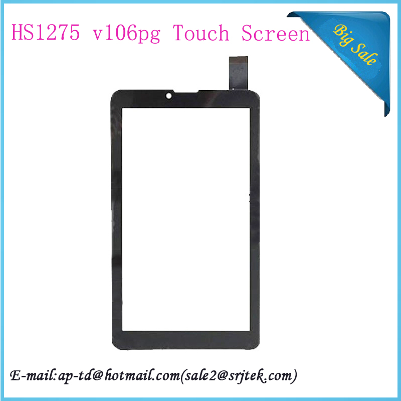 7 inch Text NaviPad TM-7049 3G TM7049 HS1275 V106pg Tablet Pc Touch Screen Digitizer Glass Sensor Replacement Parts - E-TOP1 STORE store