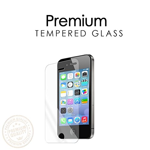 Shield cell phone 50pcs 2.5d 0.26 mm pelicula de vidro Anti Shatter best quality Tempered Glass For iPhone 4 Screen Protector(China (Mainland))