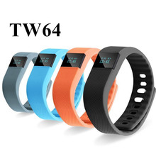 NEW TW64 Smart band Sport Smart Bracelet Wristband Fitness Tracker Smartband Bluetooth 4.0 Flex Watch for IOS Android PK Mi Band