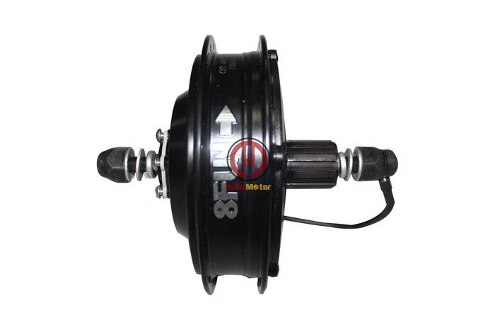 Latest 48v 500w 8fun bafang brushless geared dc cassette for Geared brushless dc motor