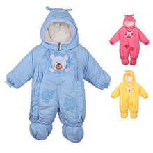 Free shipping wholesale Autumn and winter baby clothes baby clothing coral fleece animal style clothing romper baby clothes(China (Mainland))